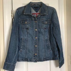 Tommy Hilfiger jean jacket. XL